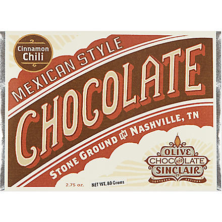 OLIVE & SINCLAIR Cinn-chili chocolate 80g