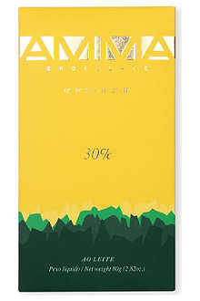 AMMA Milk chocolate 30% cocoa bar 80g