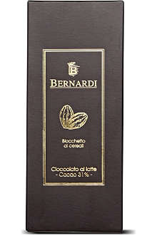 BERNARDI White chocolate bar with cereals 200g