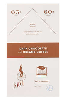 NAIVE Dark chocolate with creamy coffee 70g