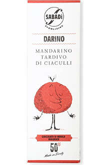 SABADI Darino organic Modica dark chocolate with mandarin zest 50g