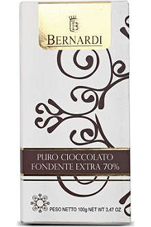 BERNARDI Extra dark chocolate bar 100g
