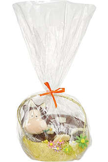 TREBUCHET Chocolate cow basket 390g