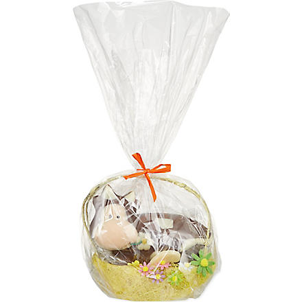 Chocolate cow basket 390g