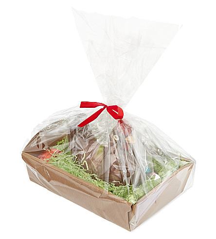 Luxury chocolate chicken tray 330g
