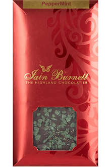 IAIN BURNETT Peppermint chocolate 100g