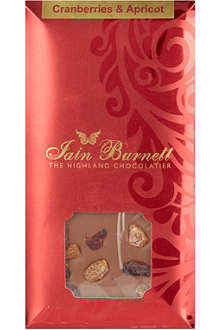 IAIN BURNETT Cranberry and apricot chocolate