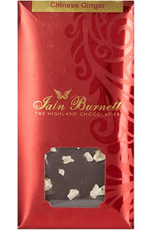 IAIN BURNETT Chinese ginger chocolate 100g