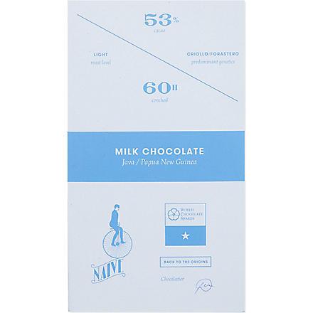 NAIVE Milk chocolate 70g