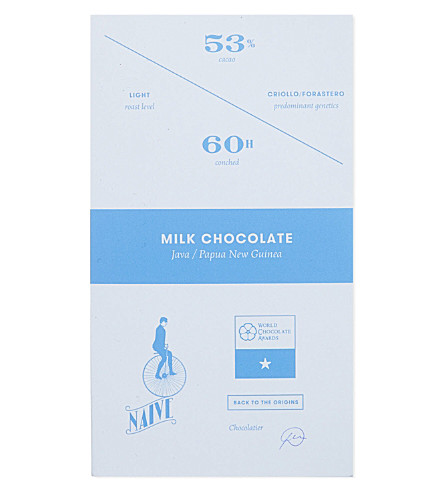 NAIVE Milk chocolate 70g
