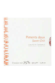 LAURENT GERBAUD Sweet chili dark chocolate 50g
