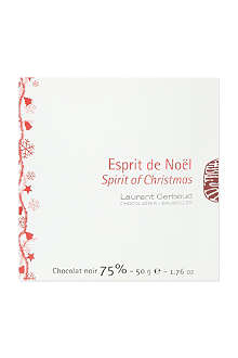 LAURENT GERBAUD Spirit of Christmas dark chocolate 50g