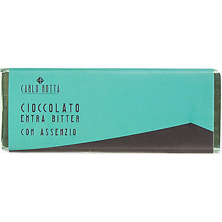 CARLO ROTTA Dark chocolate with absinthe
