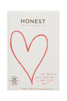 HONEST ARTISAN CHOCOLATE 72% dark chocolate + maca root