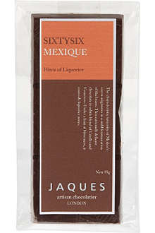 JAQUES Mexican artisan dark chocolate 55g