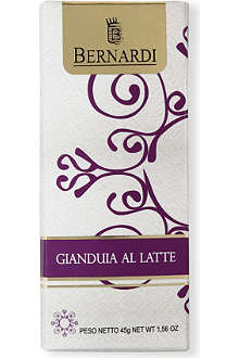 BERNARDI Milk Gianduja chocolate bar 45g
