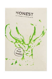 HONEST ARTISAN CHOCOLATE 72% dark chocolate + mint 60g