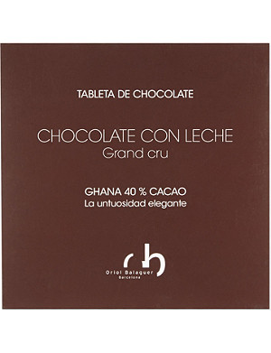 ORIOL BALAGUER 40% cocoa milk chocolate 100g