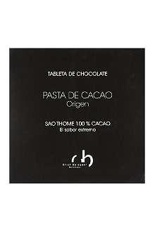 ORIOL BALAGUER 100% cocoa dark chocolate