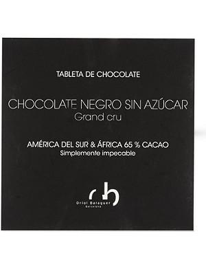 ORIOL BALAGUER Sugar-free dark chocolate 100g