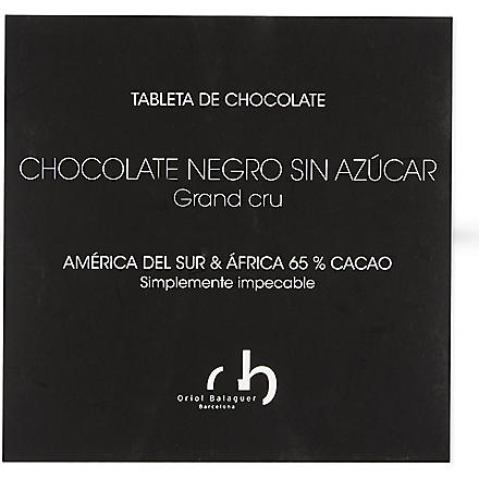ORIOL BALAGUER Sugar-free dark chocolate 100g