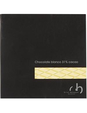 ORIOL BALAGUER 31% cocoa white chocolate 100g