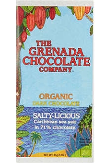 GRENADA CHOCOLATE Salty-Licious 60% cocoa dark chocolate 85g