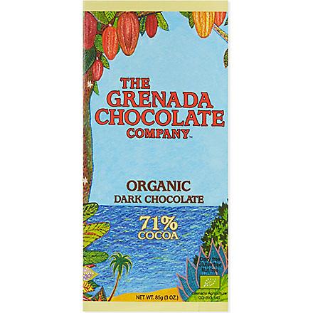 COCOA HERNANDO Organic 71% cocoa dark chocolate bar 85g