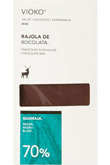 VIOKO Black chocolate bar 100g