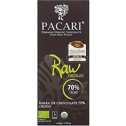 PACARI Organic raw chocolate 50g