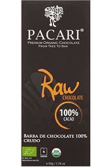 PACARI Organic raw chocolate 50g