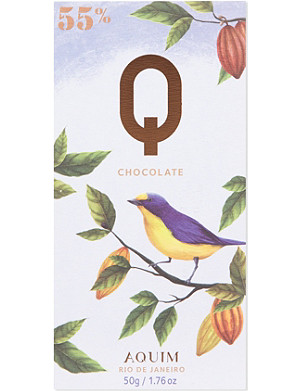 Q CHOCOLATE Rio de Janero 55% cocoa chocolate