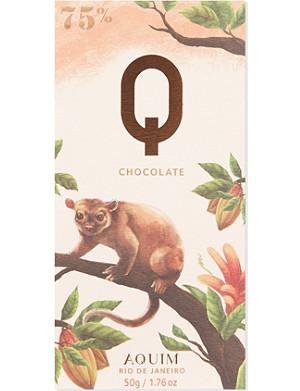 Q CHOCOLATE Rio de Janeiro 75% cocoa chocolate