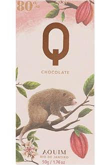Q CHOCOLATE Rio De Janero 80% cocoa 50g