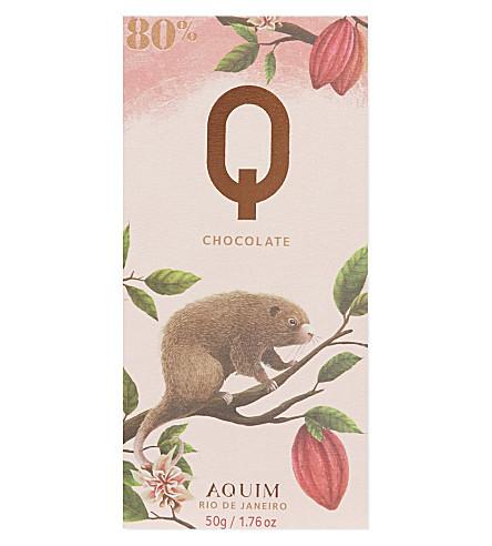 Q(AQUIM) Rio De Janero 80% cocoa 50g