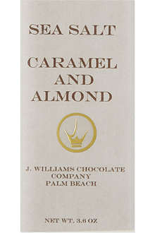 Caramel and almond chocolate 100g