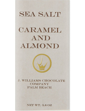 OLIVE & SINCLAIR Caramel and almond chocolate 100g