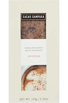 CACAO SAMPAKA White chocolate cappuccino 100g