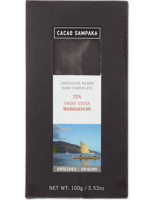CACAO SAMPAKA Cacao sampaka single origin 71 madagasca