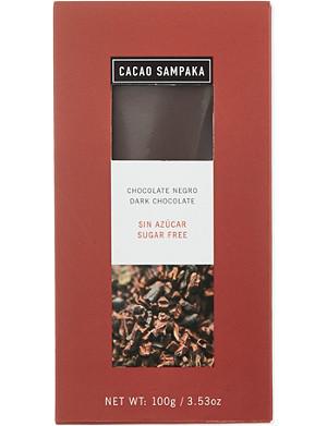 CACAO SAMPAKA Sugar free dark chocolate 100g