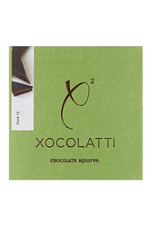 XOCOLATTI 72% dark chocolate square 70g