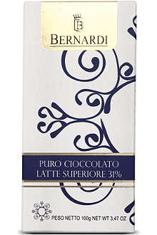 BERNARDI Superior milk chocolate bar 100g
