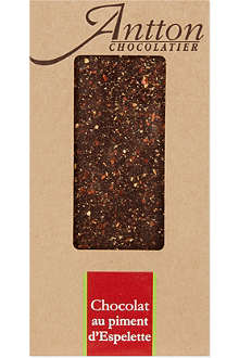 ANTTON Dark chocolate with Espelette chilli pepper 100g