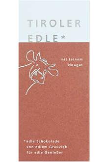 TIROLER EDLE Fine nougat chocolate 50g