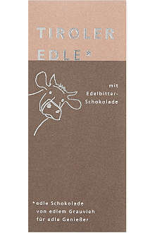 TIROLER EDLE Bittersweet chocolate 50g