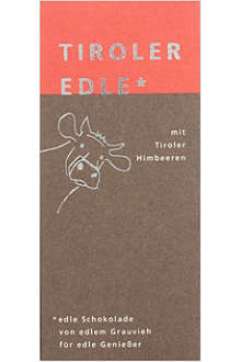 TIROLER EDLE Chocolate with Tyrolean raspberry 50g