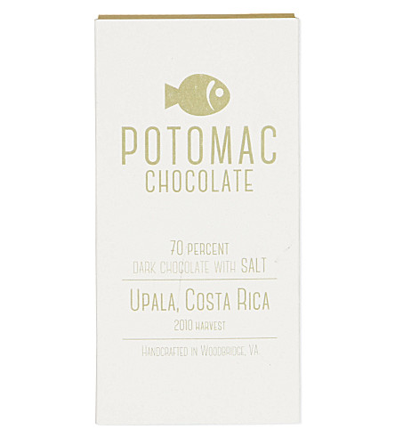 POTOMAC Upala dark chocolate with salt 50g