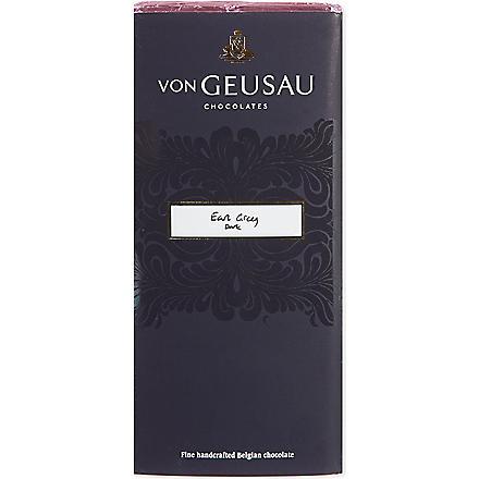 VON GEUSAU Earl Grey dark chocolate 110g