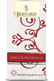 BERNARDI White chocolate bar 100g