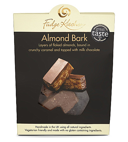 FUDGE KITCHEN Almond bark 150g